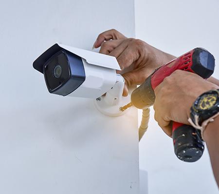 Installation de système de vidéo-surveillance près de Compiègne